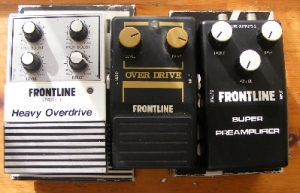 Instruments - Early 80's vintage model, Frontline Heavy Overdrive series 2 guitar foot switch/pedal
