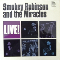 Robinson, Smokey  and the Miracles - Live! [Tamla Motown 1969 LP]