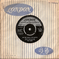 "Soxx, Bobb B. and The Blue Jeans - Not Too Young To Get Married/ Annette, original UK 7"" single release on London Records HL-U.9754 in 1963"