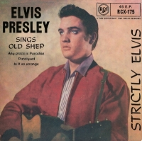 "Presley, Elvis - Strictly Elvis [7"" UK 1969 issue EP]"