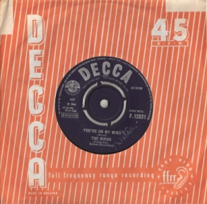 "Birds, The - You're On My Mind [7"" UK single, Decca 1964]"