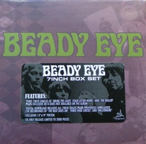 "Oasis - Beady Eye Box Set, Ltd US Record Store Day Only 7"" Box Set, still sealed"