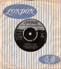 Brown, James - Prisoner Of Love/ Choo-Choo, UK London 1963 original single