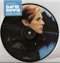 "Bowie, David - Sound and Vision [Prlophone Records] 7"" Picture Disc, 2017 release, 40th Anniversary edition, still sealed"