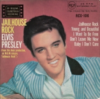 "Presley, Elvis - Jailhouse Rock [7"" UK 1969 issue EP]"