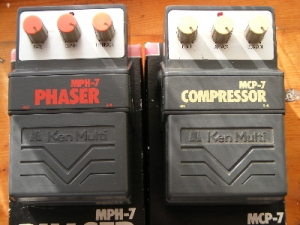 Instruments - Early 80's vintage model, Ken Multi Compressor MCP-7 guitar foot switch/pedal