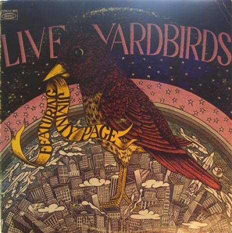 Yardbirds, The - Live Yardbirds featuring Jimmy Page, Rare original US Epic Records copy, great copy.