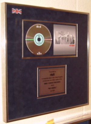 Dido - Presentation Award 2001 for No Angels
