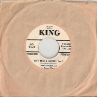 Brown, James - Aint That A Groove Part 1 & 2, King Records US Promo single