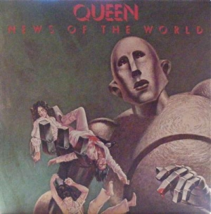 Queen - News Of The World, Classic album from 1977 in EX+ condition, c/w inner lyric sleeve