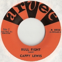 "Lewis, Cappy - Bull Fight/ [The Olympics] Little Pedro, original U.S. 7"" single release on Arvee Records A 5023"