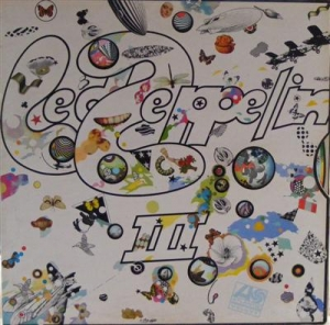 Led Zeppelin - Led Zeppelin 3, 1st pressing, red/maroon label with rotating wheel cover