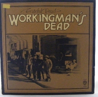 Grateful Dead - Workingman's Dead, from 1970 on Warner Bros. Records 1869, original UK stereo release