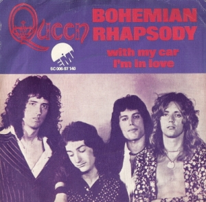 Queen - Bohemian Rhapsody [Dutch issue, c/w picture sleeve 1975]