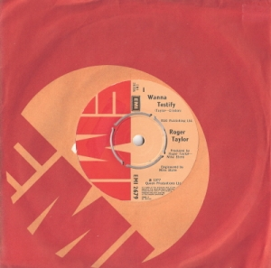 "Queen - Roger Taylor -  I Wanna Testify [7"" very rare UK single, EMI 1977]"