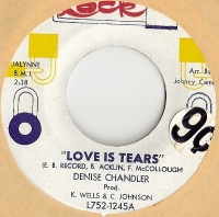 "Chandler, Denise [Denise Williams] - Love Is Tears/ I'm Walking Away, original U.S. 7"" single release on Lock Records L752-1245 in mid 60's. Very desirable Northern Soul & Funk recording"