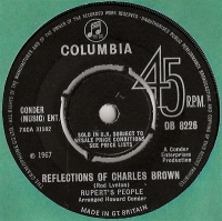 Ruperts People - Reflections Of Charles Brown, very rare 1967 single release