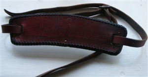 Brown, Joe - Joe's stage worn and used guitar strap, signed from the mid 60's