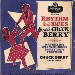 Berry, Chuck - Rhythm and Blues with... original London Tri-centre EP and sleeve